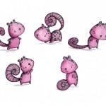 pink creature